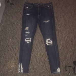 American Eagle Ripped Skinny Jeans